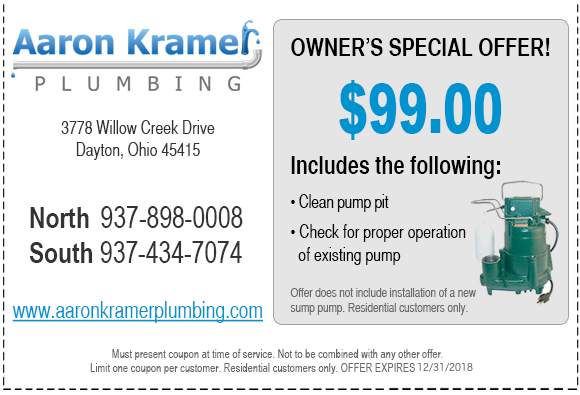 aaron plumbing coupons